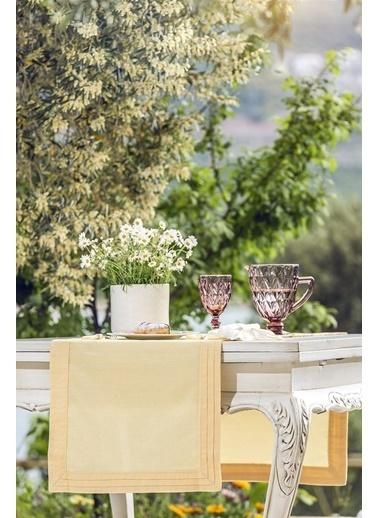 Gül Güler Masa Bandı Plise 001032023004 Sarı